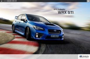 WRX STI Microsite