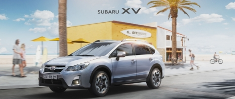 Subaru XV Microsite