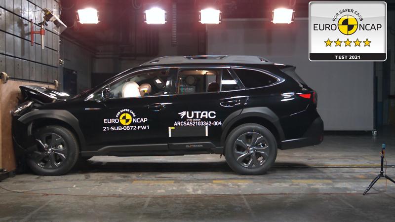 2021 Subaru Outback Euro NCAP